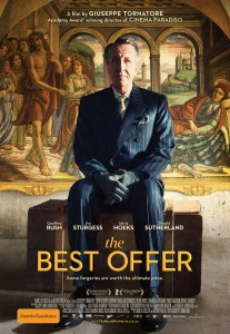 The Best Offer poster. Warner Bros/Paco Cinematografica/Transmission Films