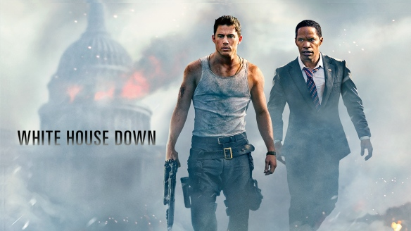 White House Down banner. Columbia Pictures.