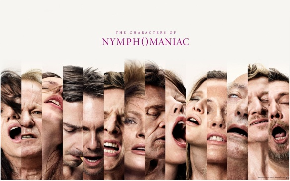 Nymphomaniac character poster. Magnolia Pictures/Zentropa Entertainments