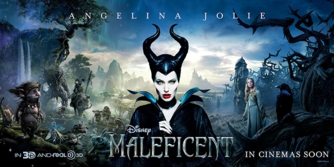Maleficent poster. Walt Disney Pictures.