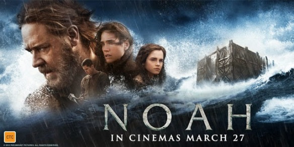 Noah poster. Paramount Pictures/Regency Enterprises.