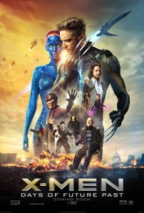 X-Men Days of Future Past poster. Marvel/Twentieth Century Fox